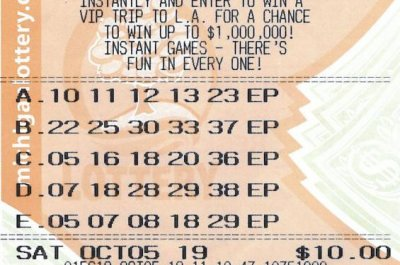 Man wins $585,204 lottery jackpot one year after trio of big prizes