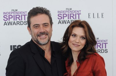 Hilarie Burton joins husband Jeffrey Dean Morgan on 'Walking Dead'