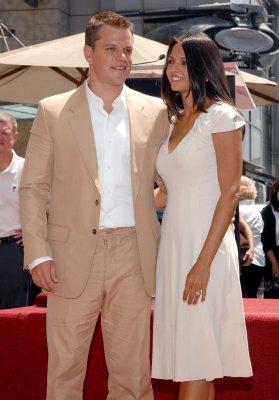 Matt Damon welcomes another daughter