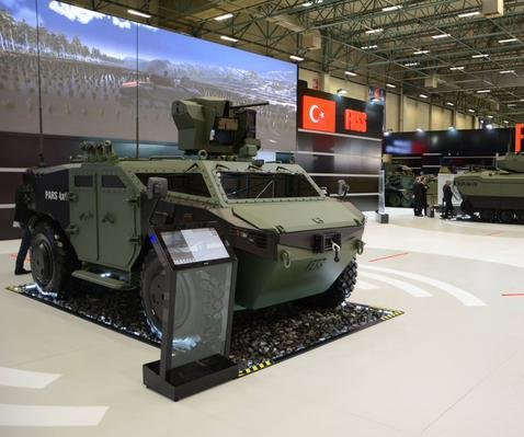 FNSS of Turkey intros new armored vehicle