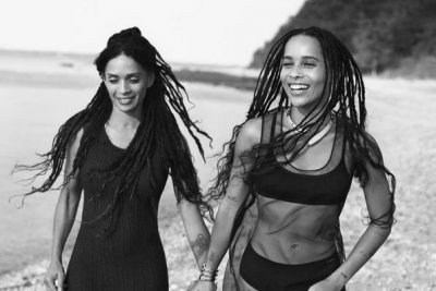 Zoe Kravitz, mom Lisa Bonet star in Calvin Klein ad