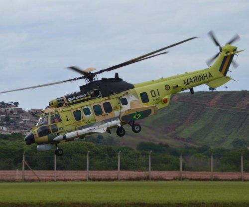 Helibras debuts first H225M helicopter for Brazilian navy