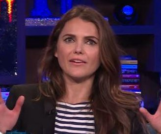 Keri Russell plays Shag, Marry, Kill with Disney alums
