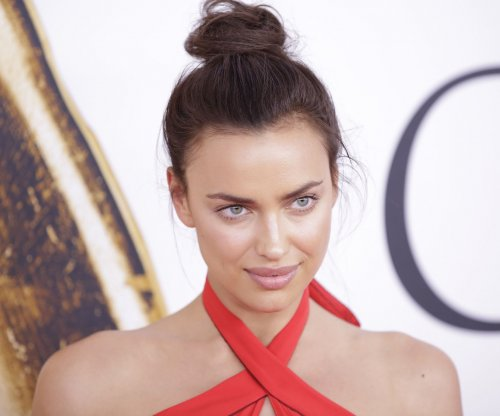Irina Shayk returns to red carpet after daughter's birth