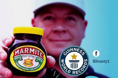 South African man eats 14.8 ounces of Marmite in one minute