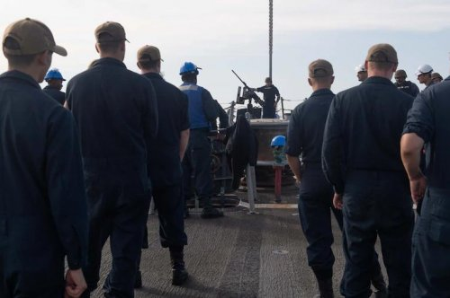 USS Arleigh Burke begins first patrol from new home port in Spain