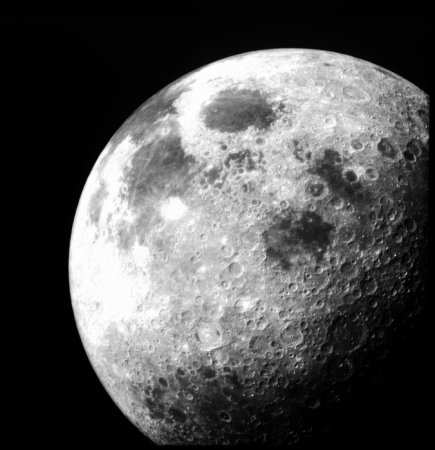 Scientists use gravity, topographic data to find unmapped moon craters