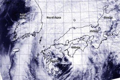 Another typhoon strikes Japan