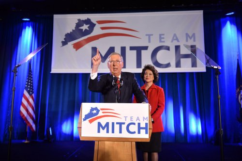 Mitch McConnell defeats Allison Lundergan Grimes early in Kentucky
