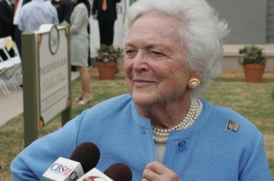Former first lady Barbara Bush turns 90, celebrates 25 years of foundation