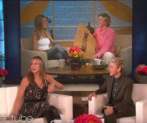 Ellen DeGeneres celebrates 2,000th episode with Jennifer Aniston