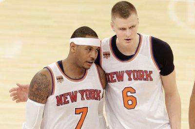 Kristaps Porzingis scores career-high 35 as New York Knicks top Detroit Pistons