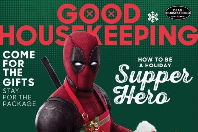 'Deadpool' lands cover of Good Housekeeping, has Thanksgiving in new poster