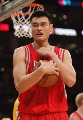 Yao Ming out for the season