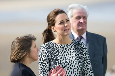 Duchess of Cambridge makes final public appearance before second baby