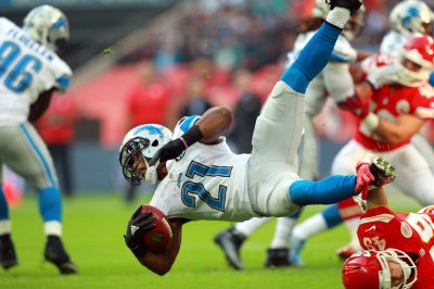 Detroit Lions' RB Ameer Abdullah works on mental approach