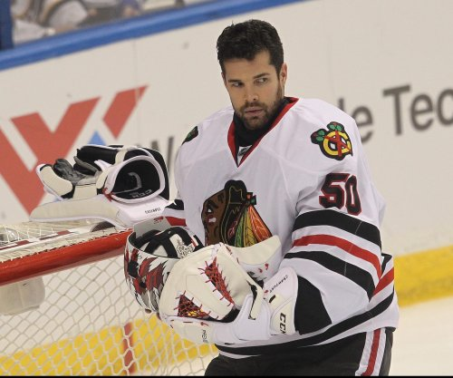 Chicago Blackhawks' Corey Crawford placed on IR after appendectomy