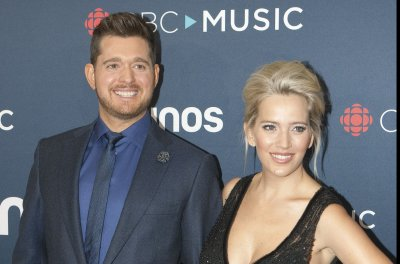 Michael Buble confirms daughter's name: Vida Amber Betty