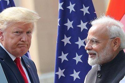 Trump wraps India visit after defense, trade talks with PM Modi