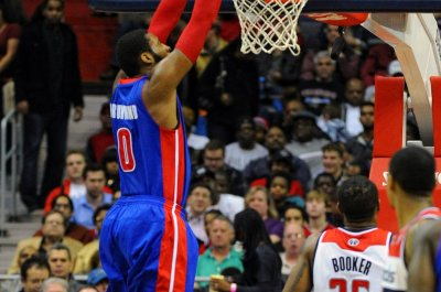 Andre Drummond powers Detroit Pistons past Los Angeles Lakers