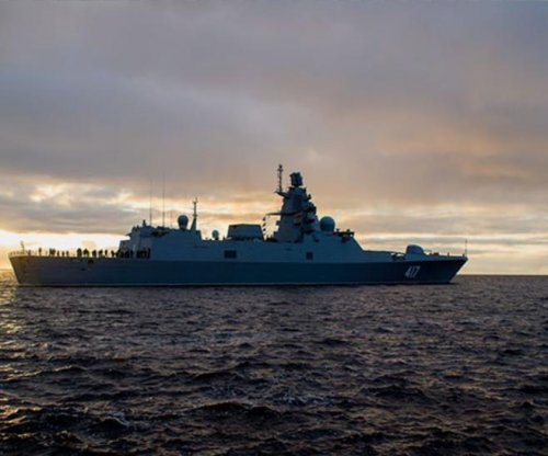 Russia's frigate Admiral Gorshkov proceeds with sea trials