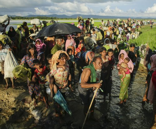 U.S. sanctions Myanmar over ethnic cleansing