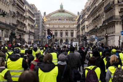 10th person killed in France's yellow vest protests
