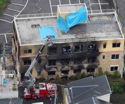 Japan police arrest Kyoto studio arson suspect after long hospital stay