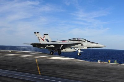 F/A-18F launched from USS Theodore Roosevelt crashes into Philippine Sea