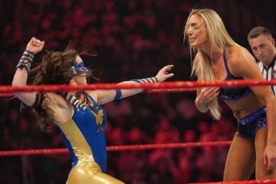 WWE 'Raw': Nikki A.S.H. takes on Charlotte Flair