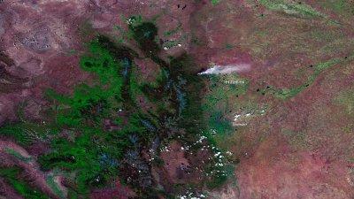 Massive Colo. wildfire uncontained