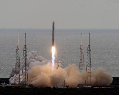 Space station mission fixes orbit problem