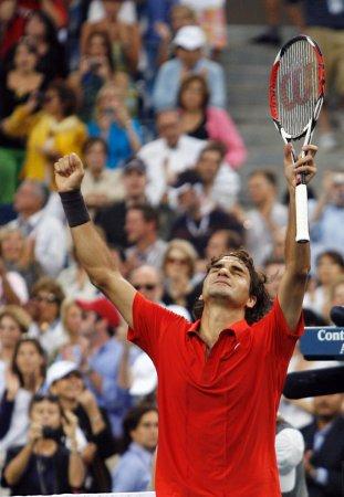 Federer wins fifth straight U.S. Open