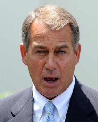 Boehner accuses Obama of job destruction