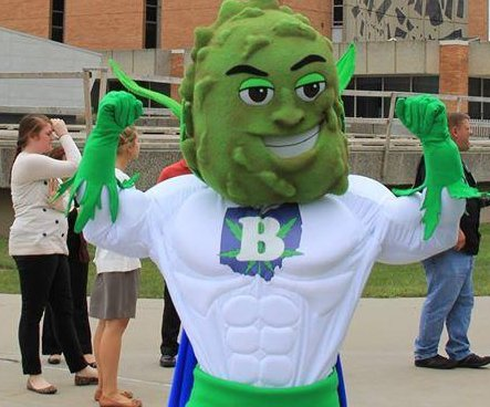 Ohio pro-pot group's superhero mascot draws criticism