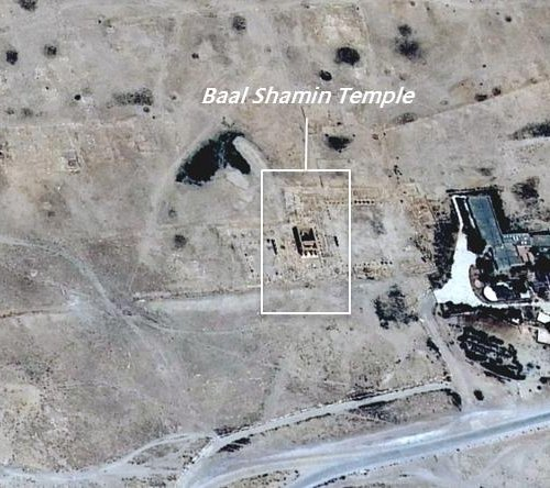 UN confirms Islamic State's destruction of Palmyra's Temple of Bel