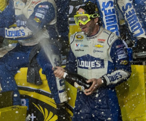 Jimmie Johnson's win at Homestead-Miami Speedway clinches Sprint Cup championship