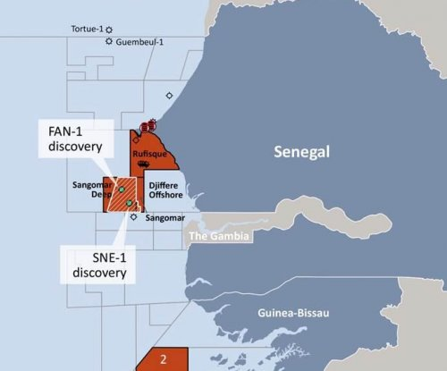 Oil streak continues offshore Senegal