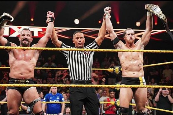 wwe nxt  bobby fish and kyle o u0026 39 reilly defeat the street