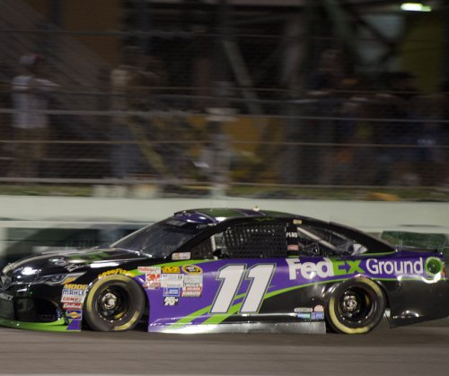Denny Hamlin snags Homestead pole; Kyle Busch paces Championship Four