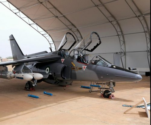Nigerian Air Force arms two Alpha jets