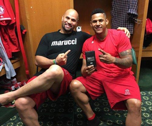 Jefry Marte powers Los Angeles Angels past Detroit Tigers