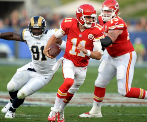 QB Alex Smith worrying only about now with the Kansas City Chiefs