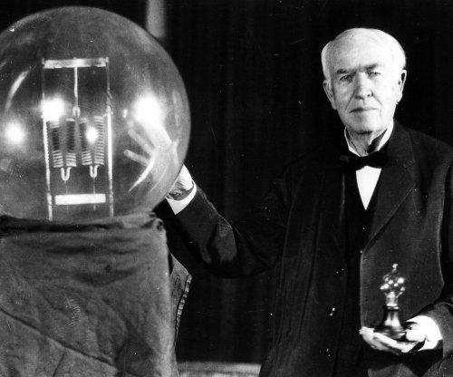 Edison scoffed at moon trip