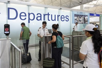 Flights resume at Hong Kong airport after protesters restricted