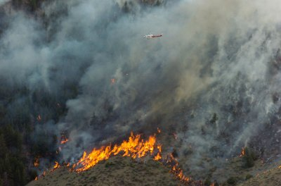King Fire now 35 percent contained, weather expected to worsen
