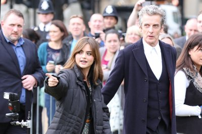 'Doctor Who' star Peter Capaldi teases Jenna Coleman's return