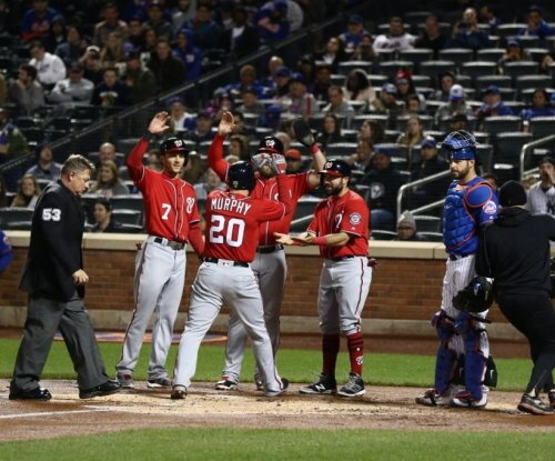 Daniel Murphy's grand slam lifts Washington Nationals past New York Mets
