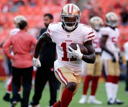 San Francisco 49ers WR Marquise Goodwin's track suspension won't affect NFL career