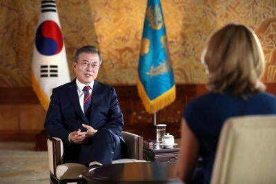 Moon: Trump and Kim looking toward another summit